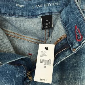 Lane Bryant Shorts - New Lane Bryant Girlfriend Shorts Star Pattern 20